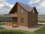 угол деревянного дома