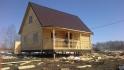 построить деревянный дом под ключ