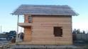 фасад дома 8х8 под крышу