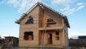 брусовой дом под крышу