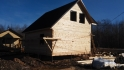 дом 7х7 под крышу из бруса