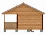 двухскатная крыша