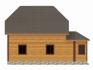 боковая сторона дома с двумя окнами