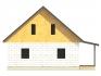 торец с двухскатной крышей