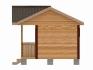 деревянная лесенка на крыльцо со входом