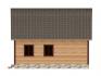 вид сбоку на 2 окна и крышу