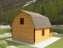 ломанная крыша для просторной мансарды