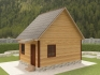 дачный дом из бруса 6х4 под ключ