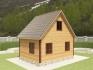 фасад, двускатная крыша