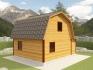 ломанная крыша для мансарды