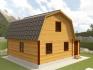 фото крыши, покрытой металлочерепицей
