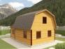 ломанная крыша дома 6х9