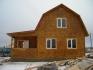 Дом из бруса с мансардой 6х9 для дачного участка