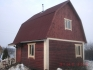 небольшой дом 6х6 из бруса