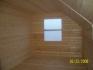 окно из мансарды второго этажа