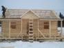 дом в процессе строилельства