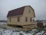 пример построенного дома из бруса