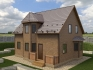 двухскатная крыша с окном из мансарды