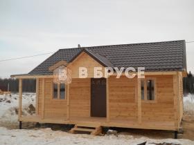 дом из бруса полностью готовый