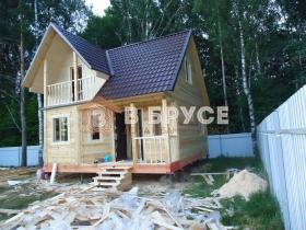 фото сказочного дома из бруса