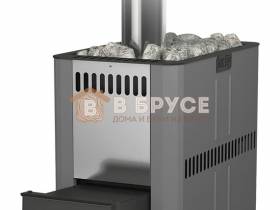 печка из нержавеющей стали