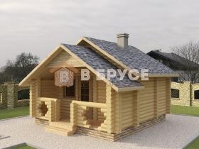 сложная двухскатная крыша