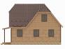 правая сторона с изогнутым углом для крыши